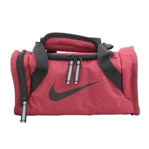 Nike***Lunch Box/Mini Duffle Bag Style. Burgundy